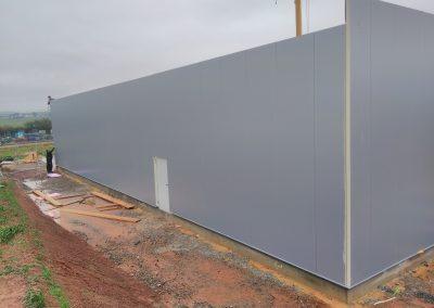 Paneelmontage Wand