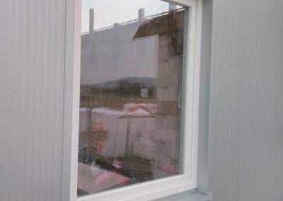 Fenster mit Blecheinfassung