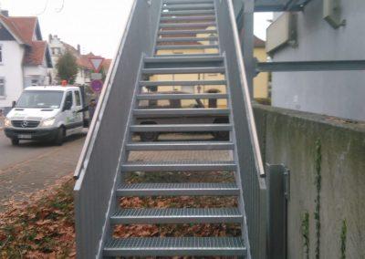 Fluchtrreppe Schwetzingen